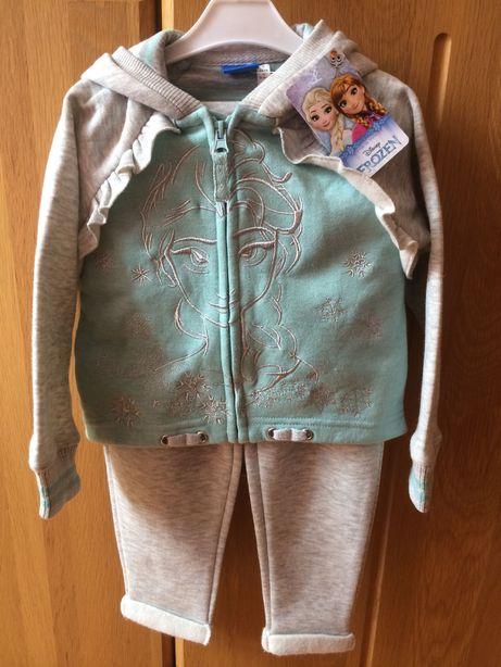 Dres bluza Frozen Kraina Lodu 98 NOWY