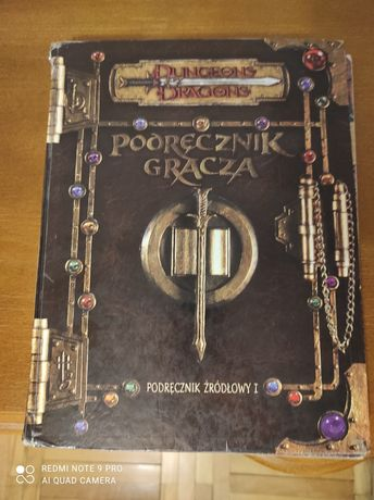 Podręcznik Gracza dungeons and dragons