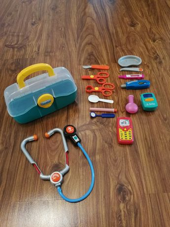 Zabawkowy zestaw lekarza