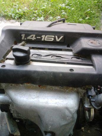 Silnik + skrzynia vw polo 1.4 16v