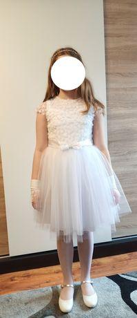 Sukienka pokomunijna