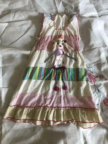 Нарядное платье для девочки ручной работы, Словения!
