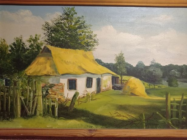 Картина  стара хата