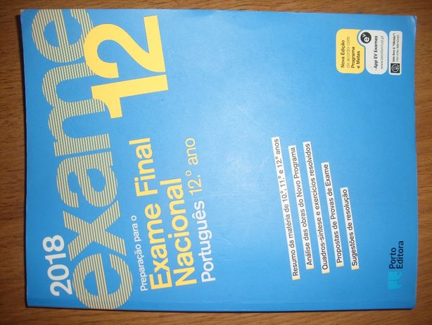 Livro de preparação de Exames de Português 12º ano