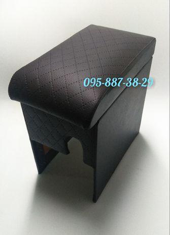 Подлокотник Ауди 100 Audi 100 1991-1997 ромб черный