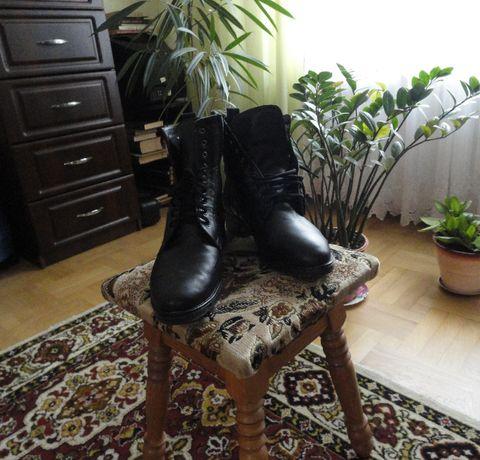 Ботинки теплые ортопедические кожа