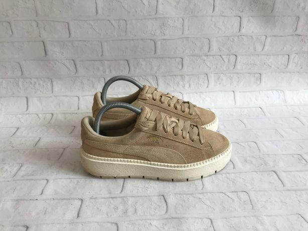 Женские кроссовки Puma Suede Platform Trace жіночі кросівки оригинал