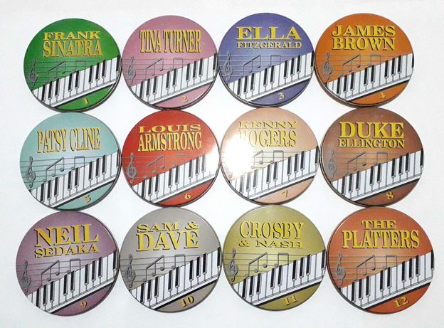 Colecção de 12 CDs de Grandes Clássicos - Alfa Delta