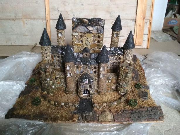 Zamek makieta zamku rękodzieło