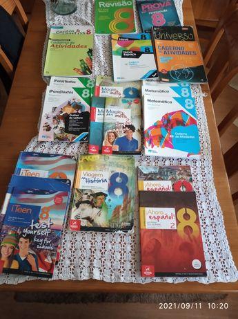 Livros vários 8 ano