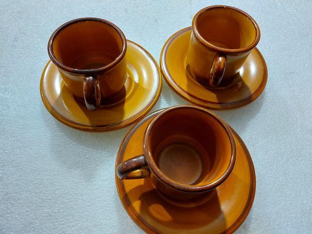 Чашка керамика майолика франция