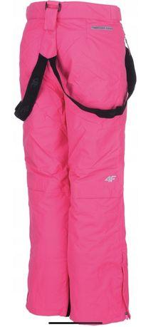 Spodnie narciarskie dziewczęce 4F