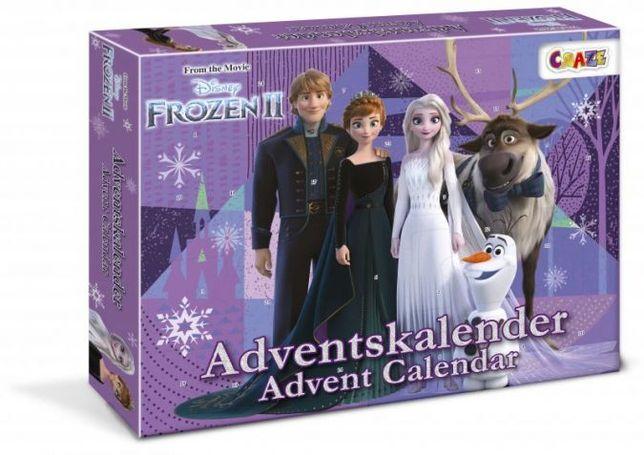 Адвент календар Frozen ІІ Новогодний календарь фроузен 2 Холодное серд