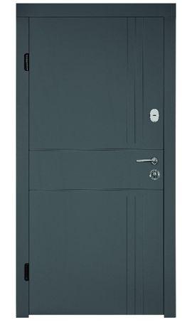 """Входная бронированная дверь """"Portala Концепт"""" ― модель Лайн 4"""