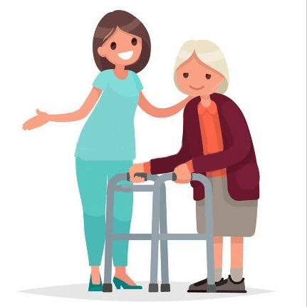 Cuido de pessoas idosas