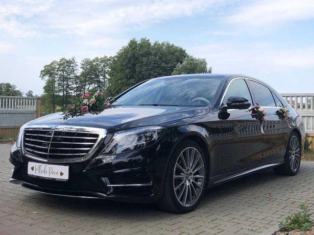 Mercedes S-klasa do ślubu lub na inną imprezę!