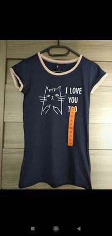 Bluzka, T-shirt damski Sinsay XS