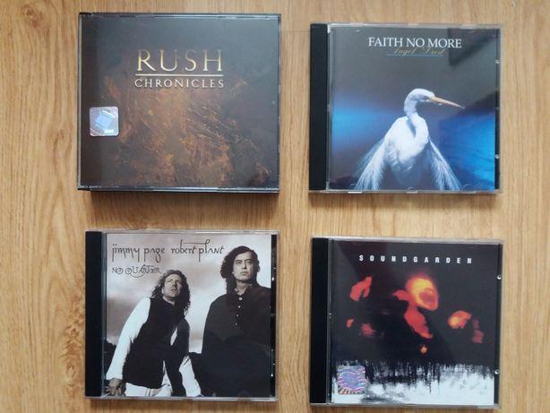 Albumy płyty CD rock Soundgarden Rush Plant Faith no more