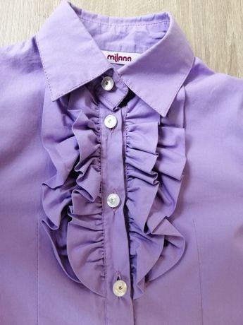 Рубашка блузка для девочки, р. 116-122