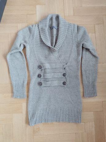 Sweter damski Top Secret wełniany roz. 36