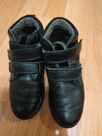 Ботинки для мальчика , кожа