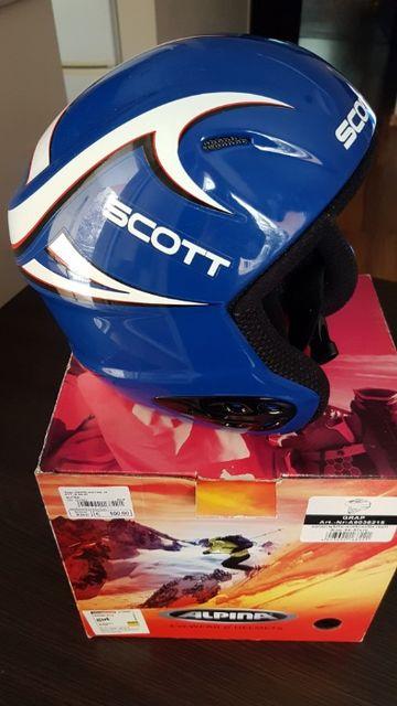 Kask narciarski Scott roz. XS
