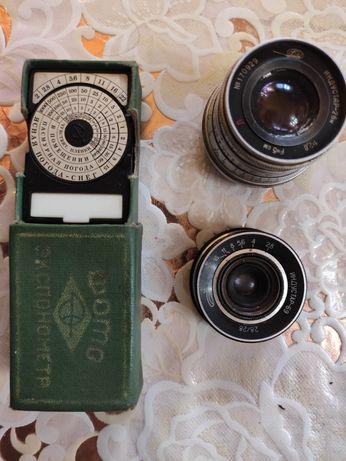 Продам оптику для фотоаппаратов