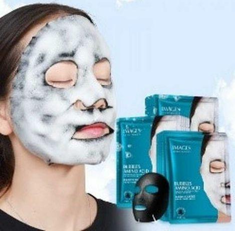 Очищуюча бульбашкова тканинна маска images, аналог маски elizavecca