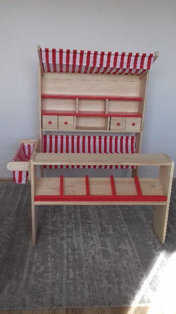 Sklepik dla dzieci sklep duży drewniany stragan stoisko PINOLINO LUCY