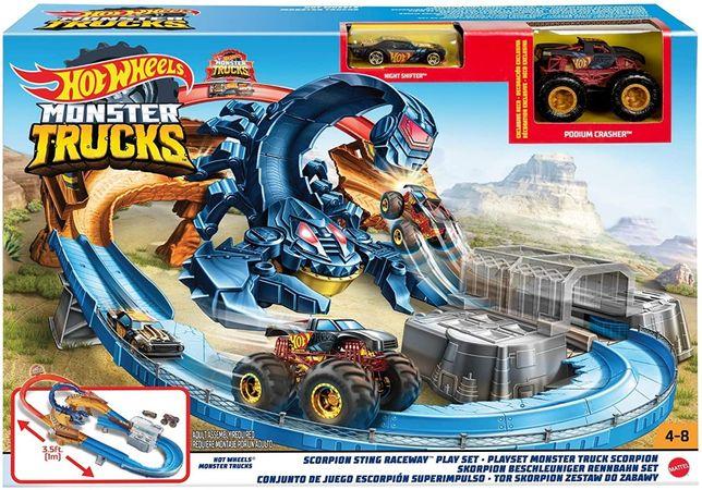 ОРИГИНАЛ! Трек Хот Вилс Hot Wheels Жало скорпиона серии Monster Trucks