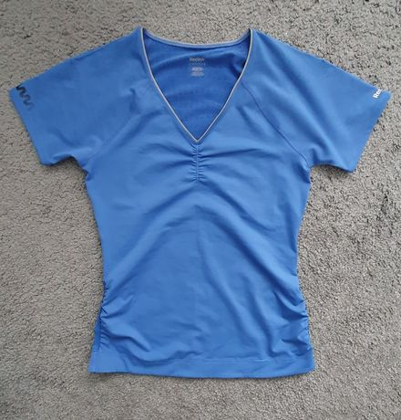 Reebok M koszulka sportowa ze sciągaczami