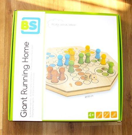 Gra CHIŃCZYK duży XL BS Toys drewniany drewno klocki konik pionki 50