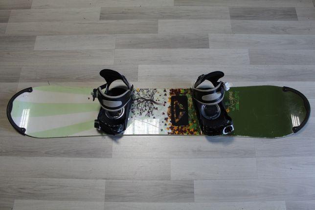 Deska Snowboard ROSSIGNOL ZENA 147 cm + Wiązania ROSSIGNOL
