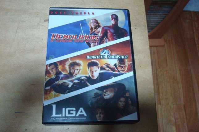 pack original 3 filmes de açao daredevil etc