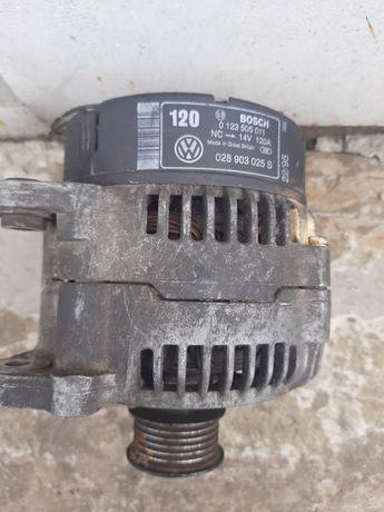 Б/у Генератор 1.9TDI 120A 028903025S Volkswagen Golf 3 Sharan Passat B