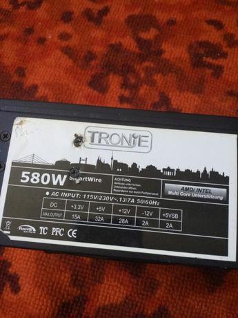 Блок питания 580W TRONIE б/у