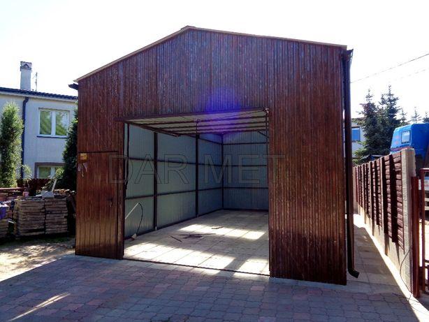 Wiata Wiaty Hala Hale Garaż Garaże Warsztat Profil + Projekt DAR MET