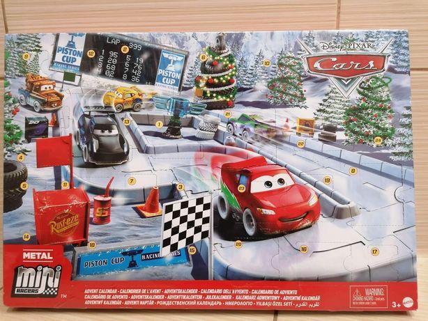 Nowy kalendarz adwentowy auta autka