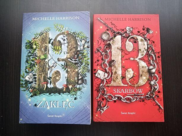 Michelle Harrison, 2 książki - 13 zaklęć i 13 skarbów
