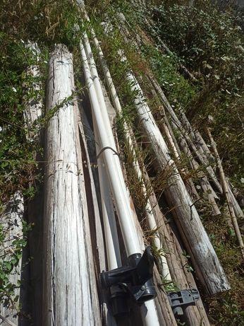 Vários tubos de regar com 6m como novos