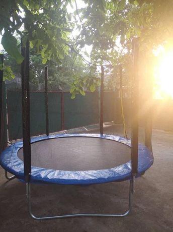 Батути 252 см 120 кг/Якісні дитячі батути/АКЦІЯ)Розпродаж/Детскийбатут