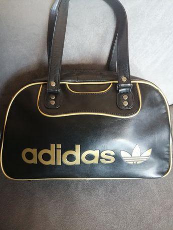 Torba adidas czarna+złoto