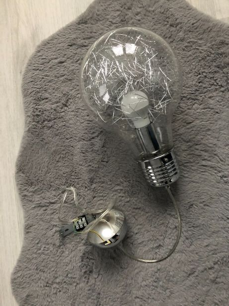 Lampa wisząca Żarówka ROHS, 210x1000 MM.
