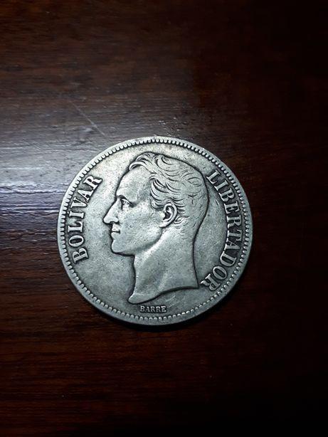 5 Bolívares Prata