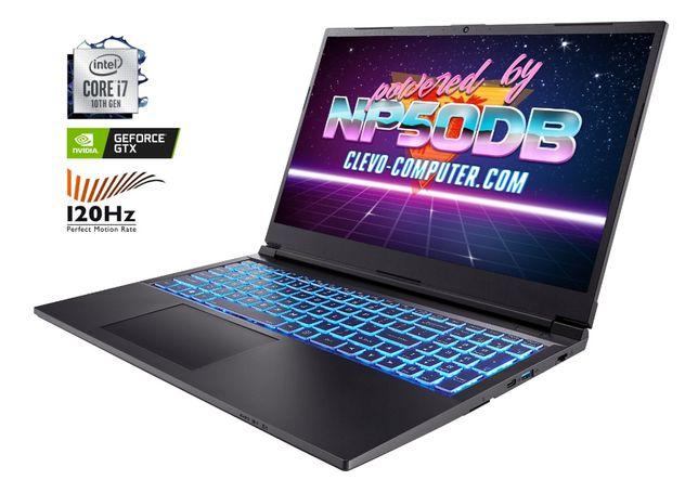 Ноутбук Сlevo NP50DB (I7-10750H/DDR4 16Gb/SSD 480Gb/GTX 1650 4GB)