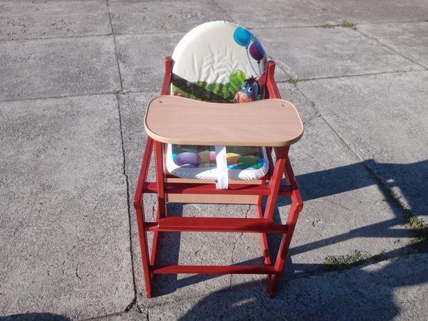 Sprzedam krzesełko drewniane 2w1