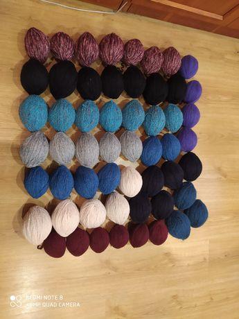 Нитки для вязания бу в отличном состоянии,цена за кг,мин.заказ 2 кн