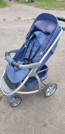 Прогулочная коляска Carella vista синяя