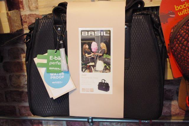 Basil Noir torba Business Bag