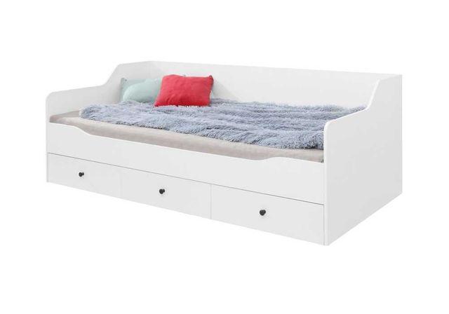 Łóżko dziecięce/młodzieżowe BERGEN 90x200 MR BE13